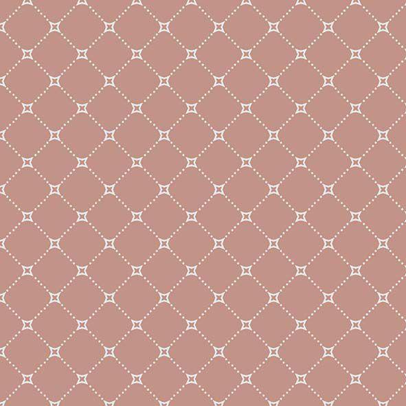 Tecido Básico Paris Coral  - Tecidos Digitais
