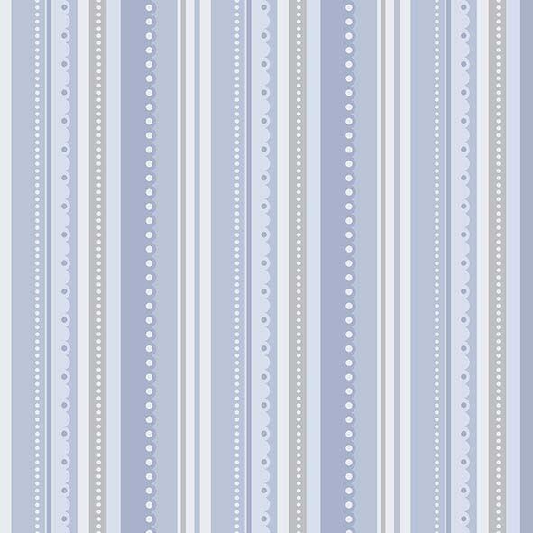 Tecido Listrado Azul  - Tecidos Digitais
