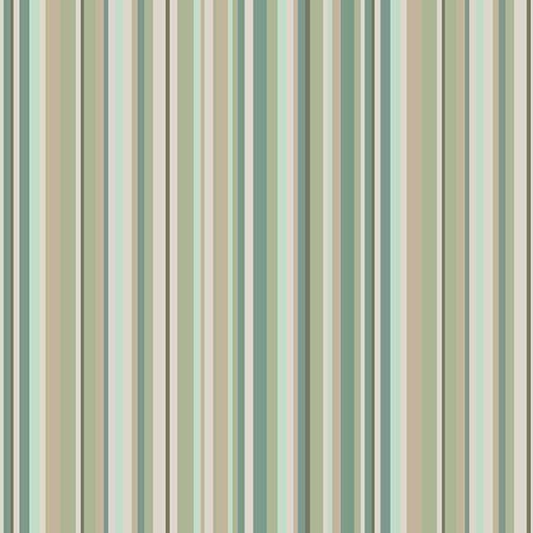 Tecido Listrado Florinda Verde  - Tecidos Digitais
