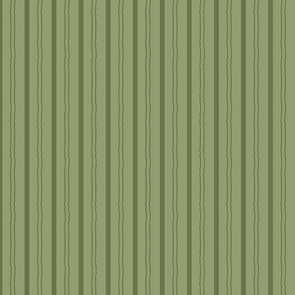 Tecido Listrado Verde  - Tecidos Digitais