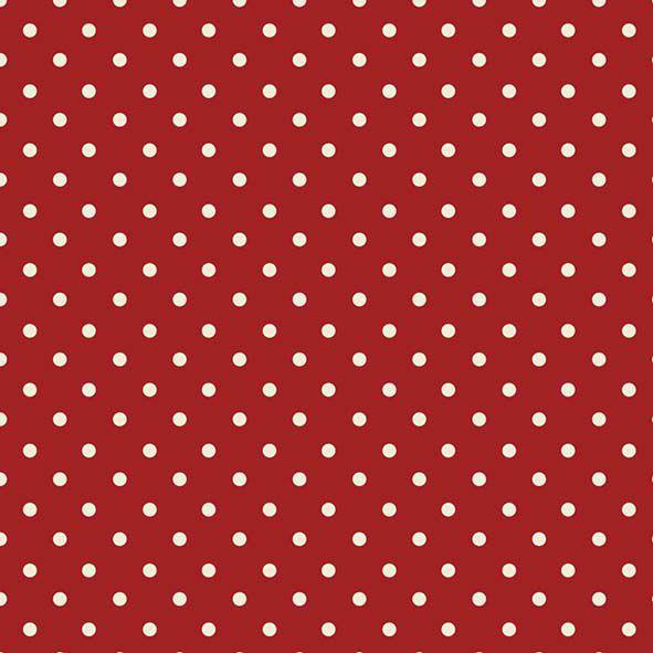 Tecido Poá Vermelho  - Tecidos Digitais