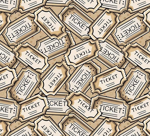 Tickets Cinema  - Tecidos Digitais