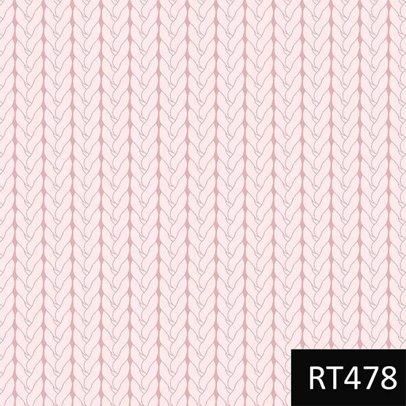 Tricô Básico Rosa  - Tecidos Digitais