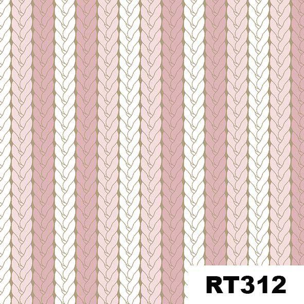 Tricô Rosa  - Tecidos Digitais