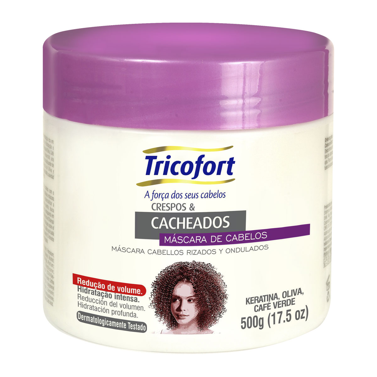 Máscara Cacheados 0,5kg - Tricofort