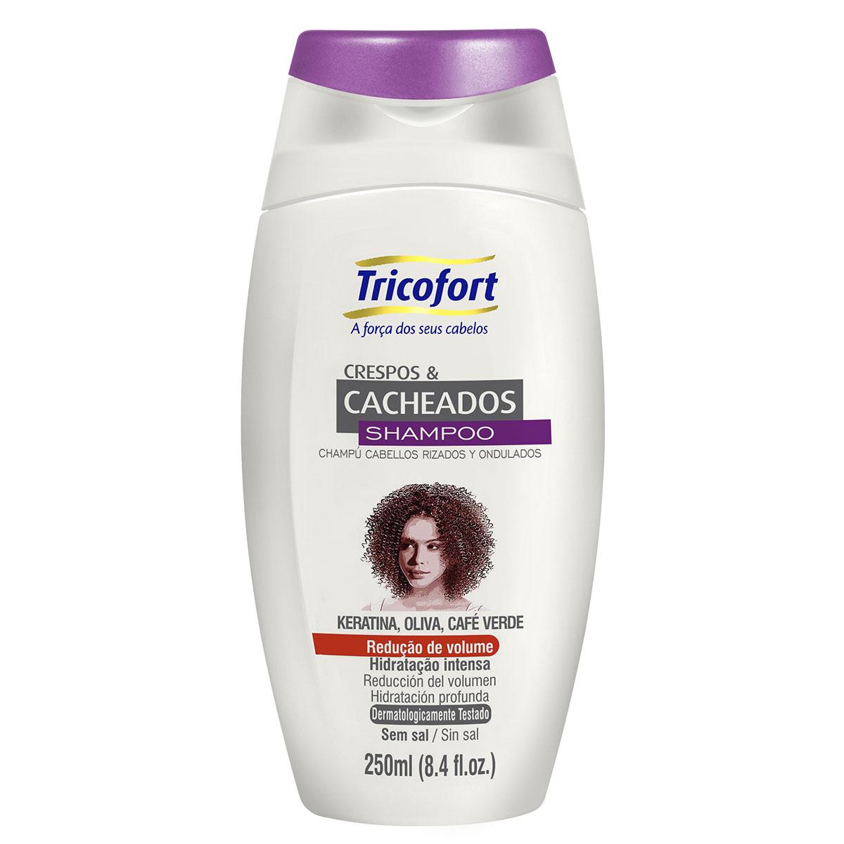 Shampoo Crespos e Cacheados 250ml - Tricofort