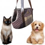Bolsa De Transporte Para Cachorros Cão Gatos Melhor Preço