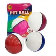 Brinquedo Pet Ball Dispenser Redondo de Petisco