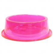 Comedouro Antiformiga 300 ml Glitter Gatos Cachorros - Rosa