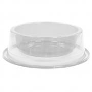 Comedouro Antiformiga 300 ml Glitter Pets - Transparente