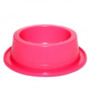 Comedouro Antiformiga 300 ml Neon Cães e Gatos - Rosa Neon