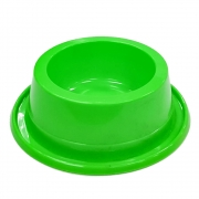 Comedouro Antiformiga 300 ml Neon Cães e Gatos - Verde Neon