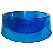 Comedouro Filhote 300 ml Glitter Gatos e Cachorros - Azul