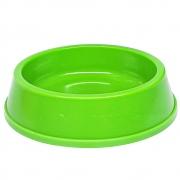 Comedouro Filhote 300 ml Neon Cachorro e Gato - Verde Neon
