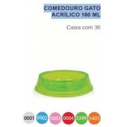 Comedouro Gato Acrilico Glitter 160 ml