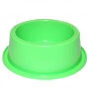 Comedouro Médio Antiformiga 1000 ml Neon Cães - Verde Neon