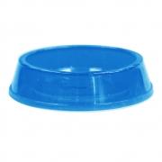 Comedouro Plástico 160 ml Glitter Pet para Gato - Azul