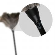 Espanador de Pó Pluma de Avestruz Multiuso - 100 cm