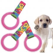 Mordedor Para Cães Pet Argola Cachorro Brinquedo Oferta