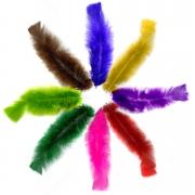 Penas Coloridas 100g