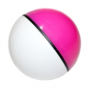 Pet Ball Dispenser Redondo de Petisco para Cães - Rosa