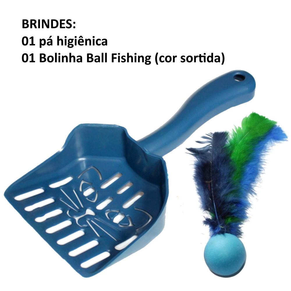 Banheiro Gato Caixa de Areia Bandeja Higiênica + Brinde