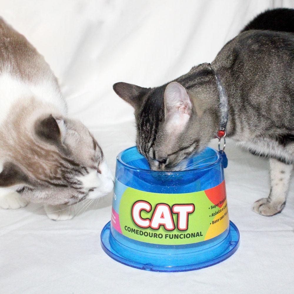 Bebedouro Gato 1,5 Litros com Comedouro 2B