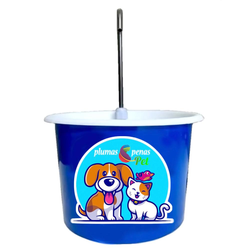 Bebedouro Gato Tipo Fonte Pet Bica Mini Bomba - Azul