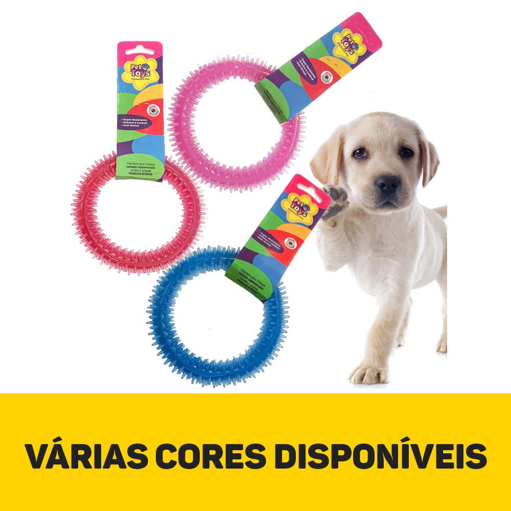Brinquedo Para Cachorro Mordedor Argola 03 Un Oferta