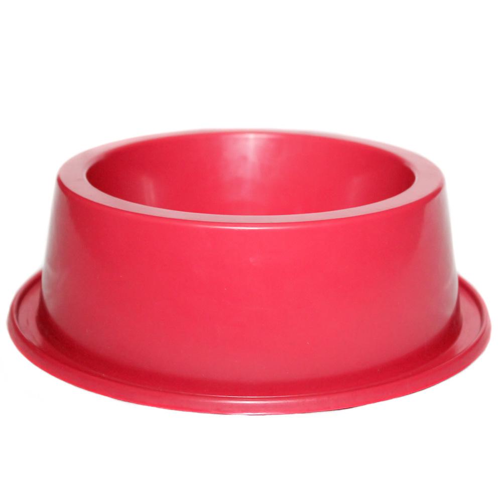 Comedouro Antiformiga 1000 ml Clássica Cão e Gato - Vermelho