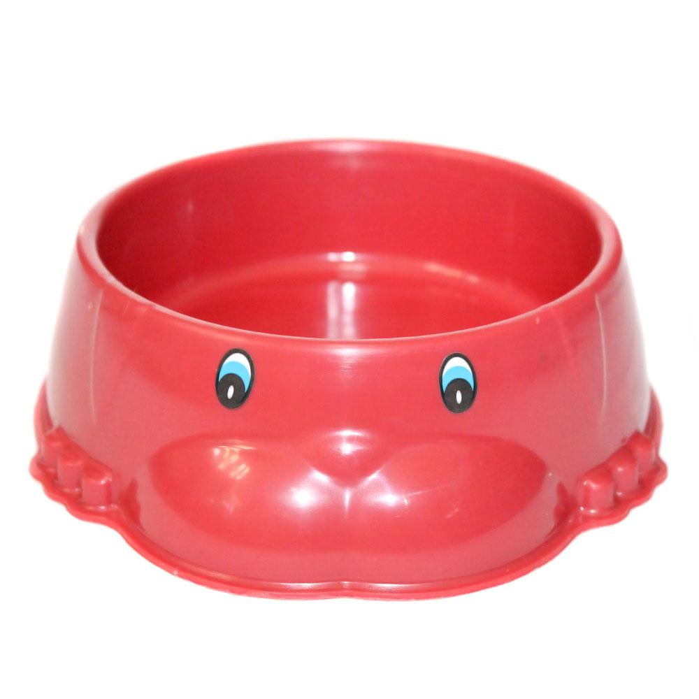 Divertidos Comedouro 400 ml Dog Mini - Vermelho