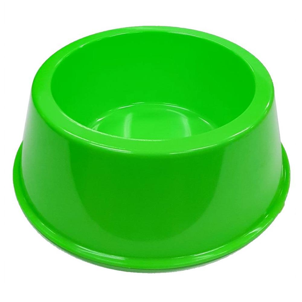 Comedouro Médio 1000 ml Neon Cachorro e Gato - Verde Neon