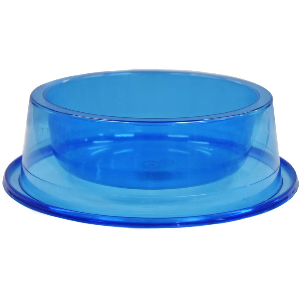 Comedouro Médio Antiformiga 1000 ml Glitter Cães - Azul