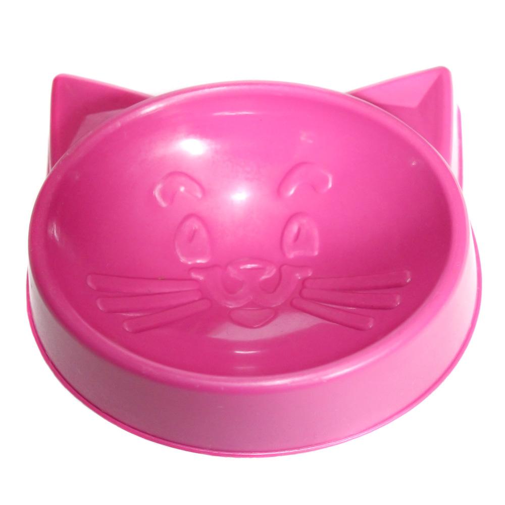 Comedouro Pequeno Cara de Gato 100 ml para Gatos - Sortido