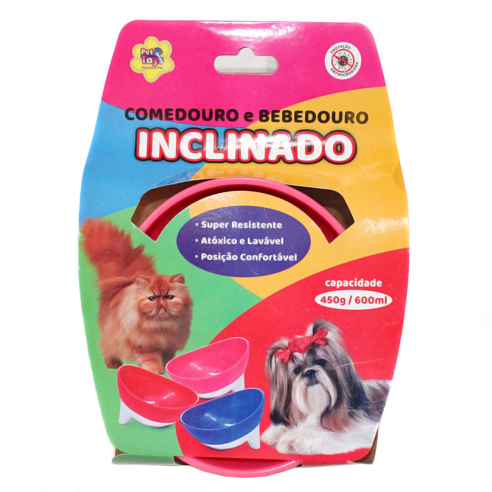 Comedouro Pet Bebedouro Ergonômico Gato Cachorro Oferta