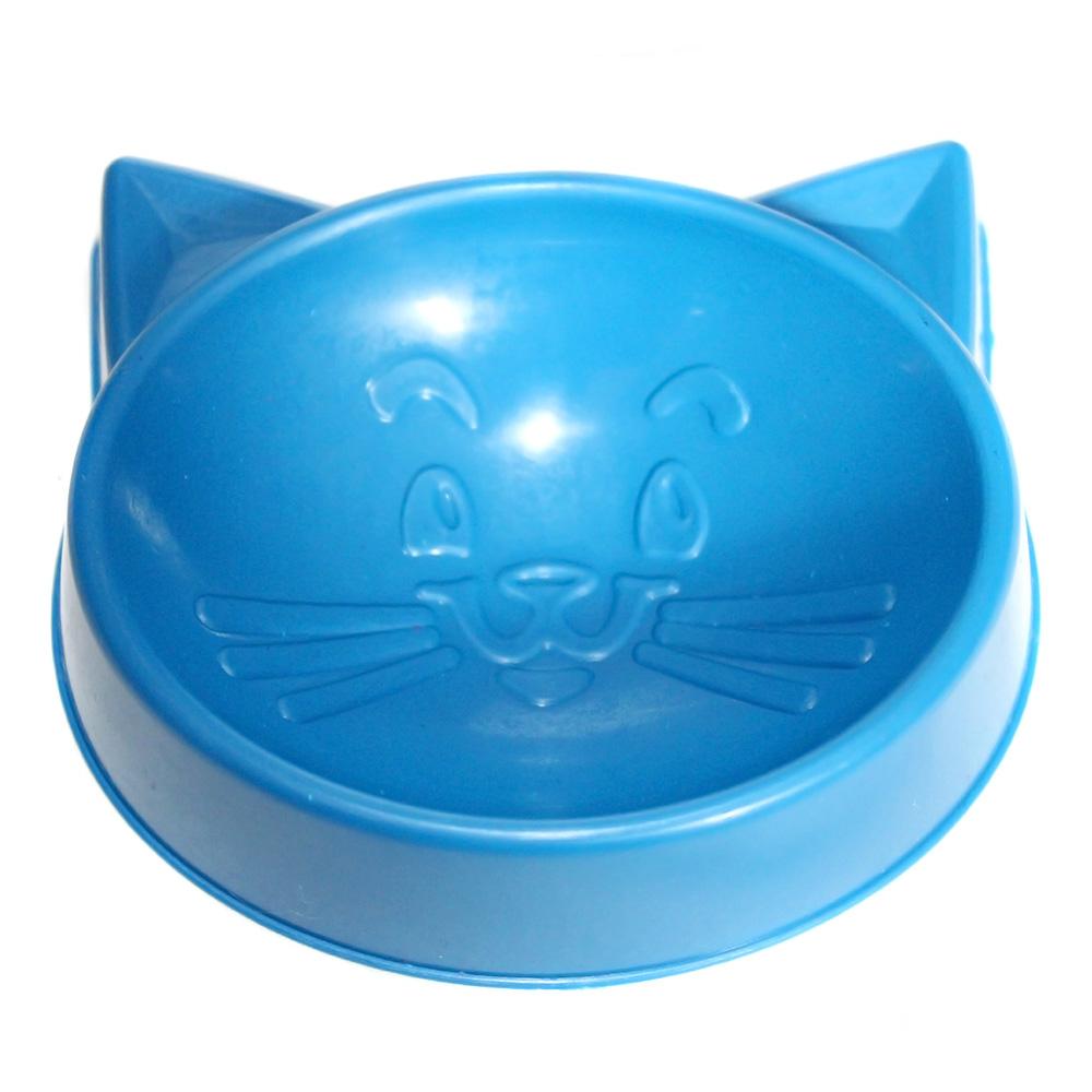 Kit Gato Bandeja Higiênica, Pá e Comedouros - Verde/Azul