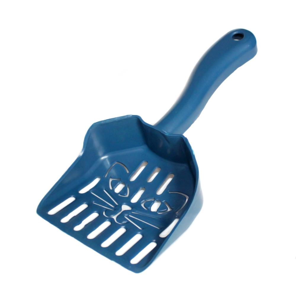 Pá Higiênica para Caixa de Areia Cara de Gato - Azul