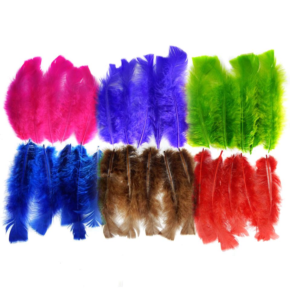 Penas Coloridas Pequenas 100 G