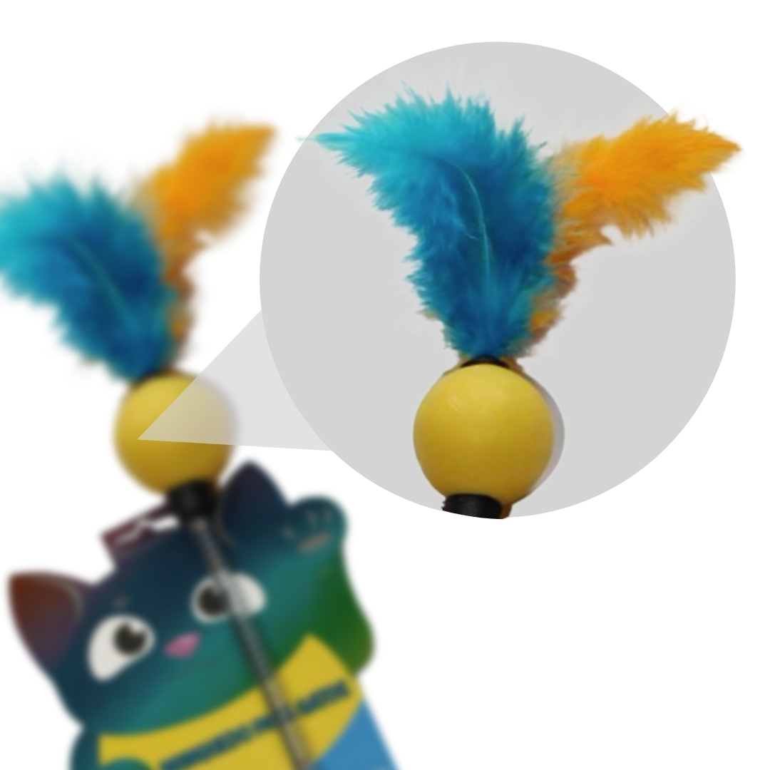 Spring Cat Mola Brinquedo Gato Pet Sortido