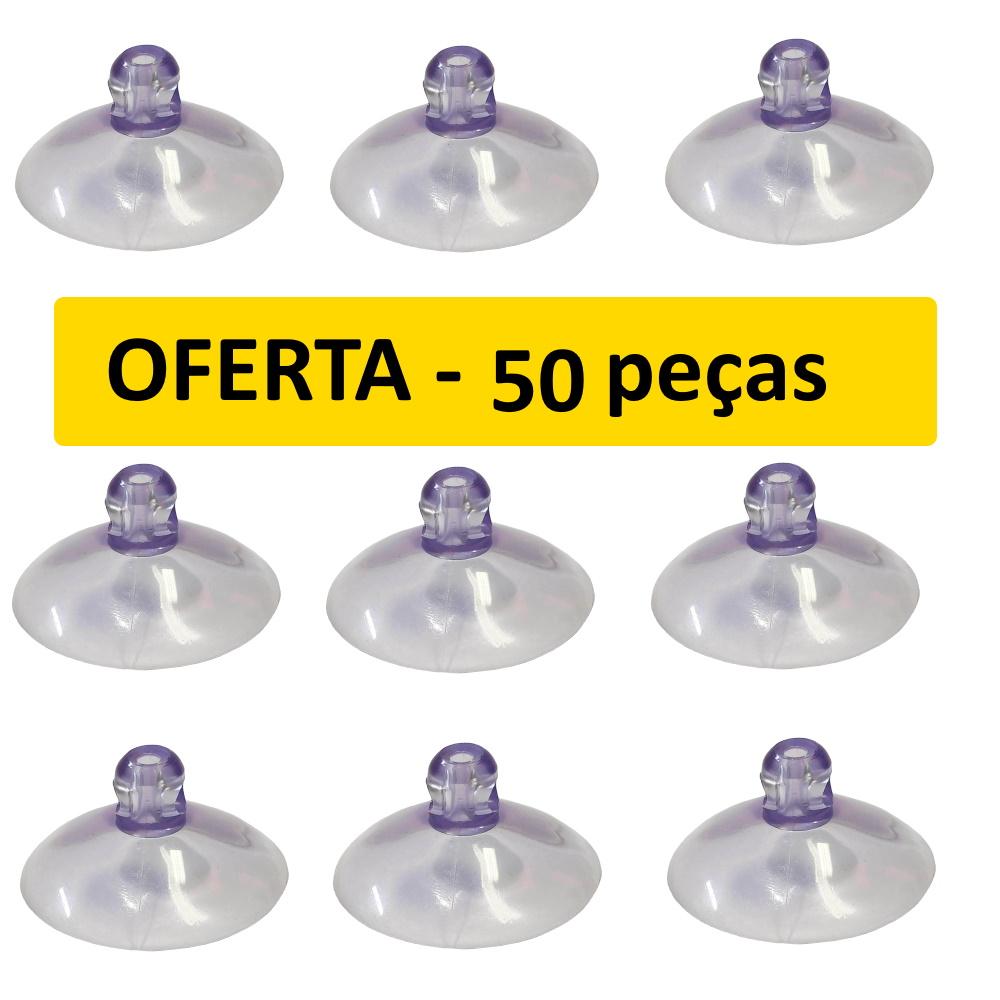 Ventosa de Silicone 40mm Kit Pacote 50 peças Melhor Preço