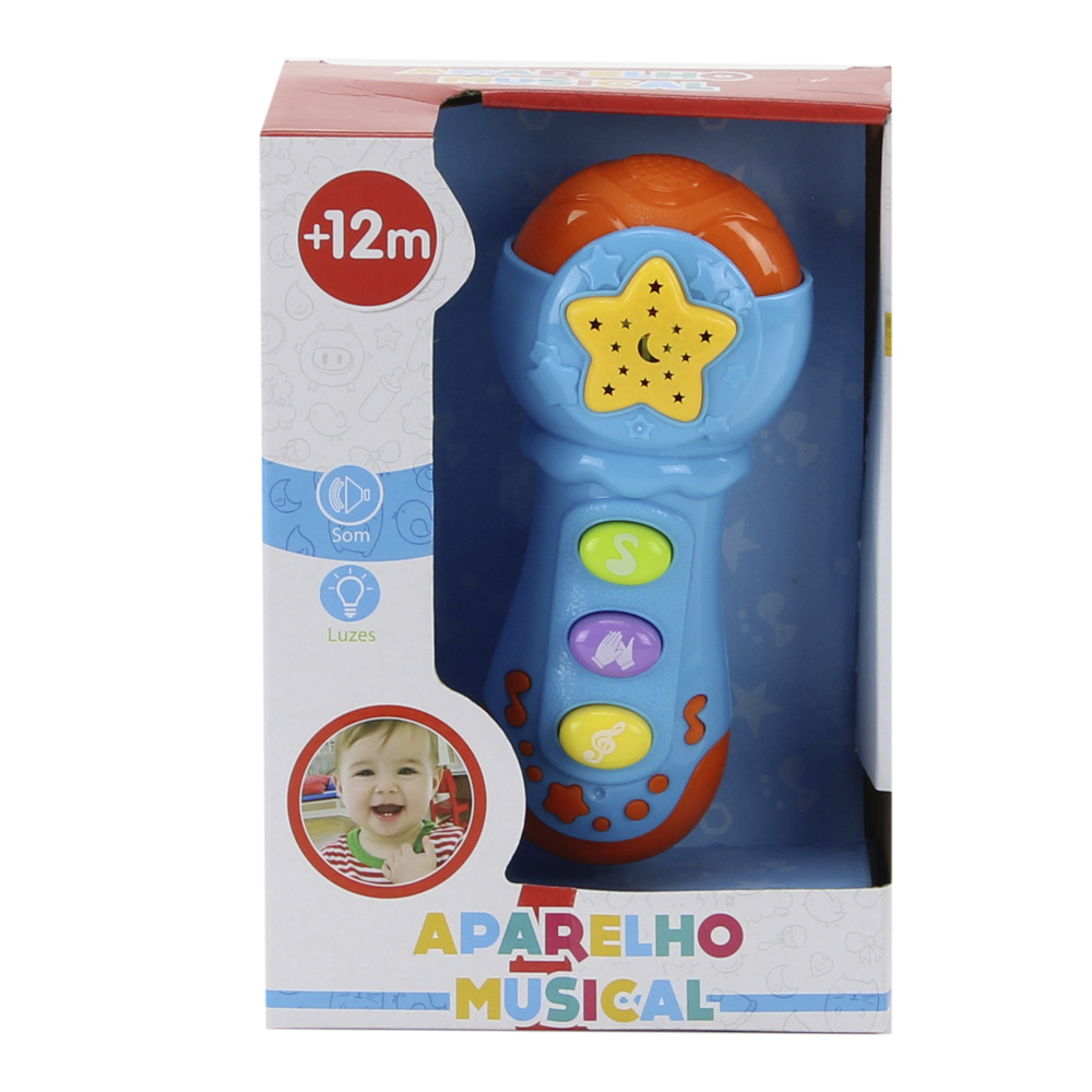 MICROFONE MUSICAL BBR TOYS