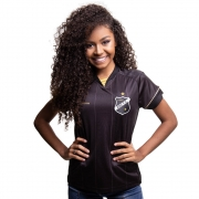 Camisa ABC - Gola V Dourada  | Feminina | Escudetto