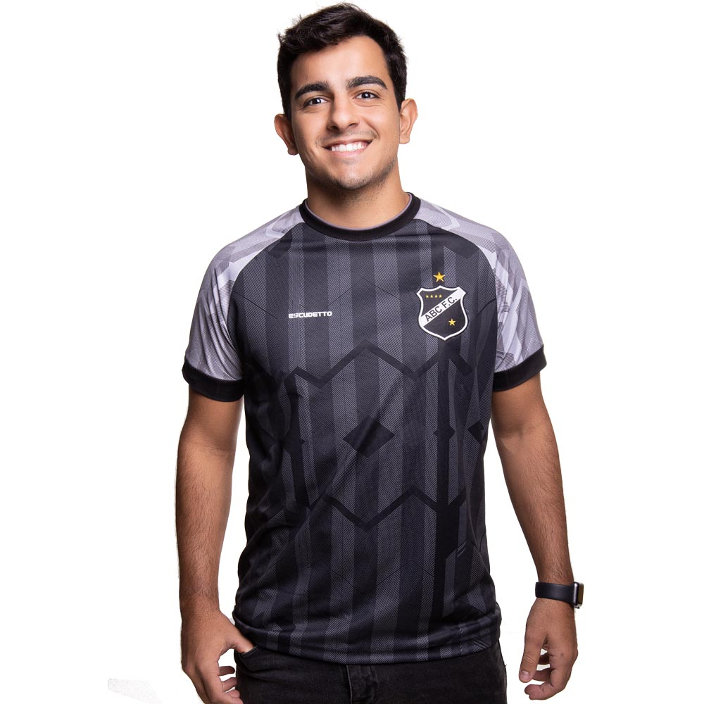 Camisa ABC - Raglan | Cinza | Escudetto