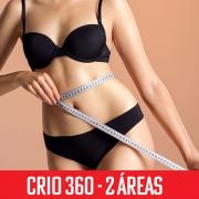 Criolipólise 360 2 áreas - abdômen superior, inferior e flancos