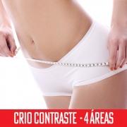 Criolipólise Contraste 4 áreas- abdômen superior, inferior e flancos