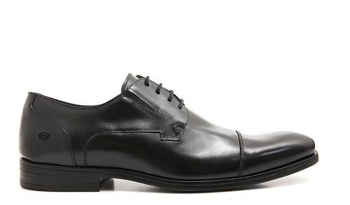 Sapato Social Masculino Couro Legitimo Forrado Sola Borracha