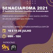 SENACIAROMA - 2º Seminário nacional científico de aromaterapia