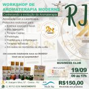 WORKSHOP DE AROMATERAPIA MODERNA NO RIO DE JANEIRO