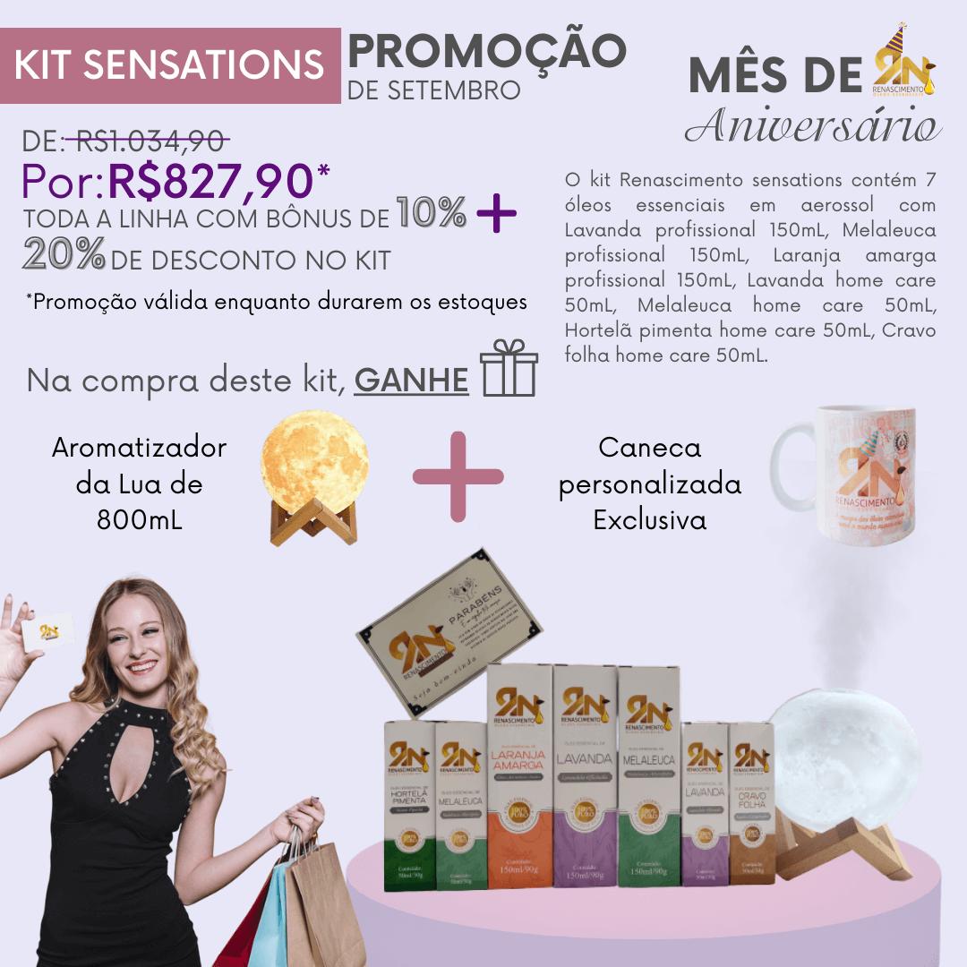 Kit Sensations Renascimento