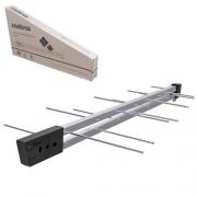 Antena Digital Externa UHF HDTV 16 Elementos 11DBI Conector Frontal - AE1016